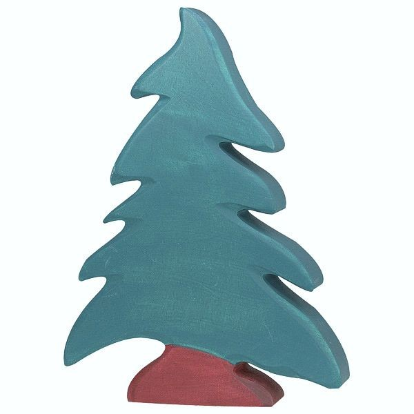 Holztiger Spielfigur Nadelbaum