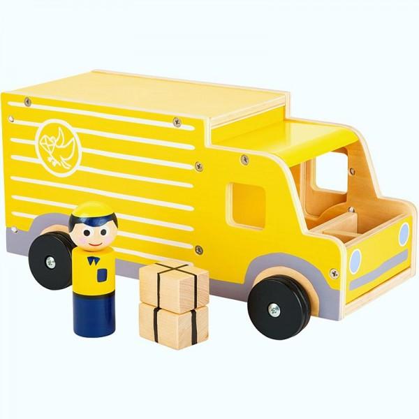 Spielauto Paketdienst XL, Holzspielzeug