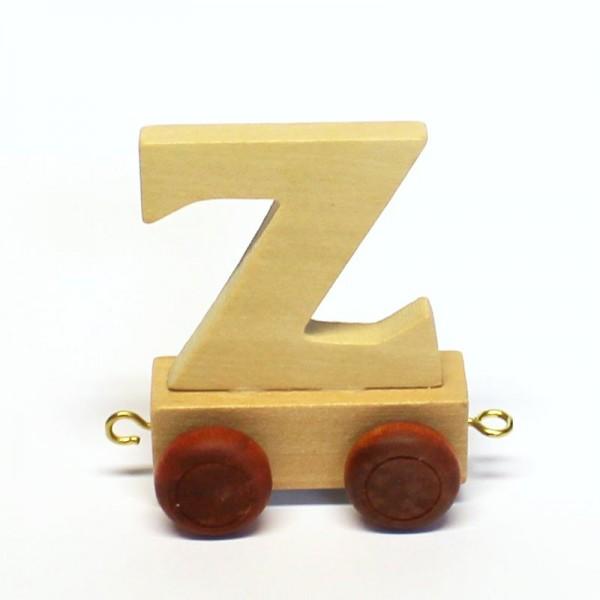 Buchstabenzug Buchstabe Z, Holz