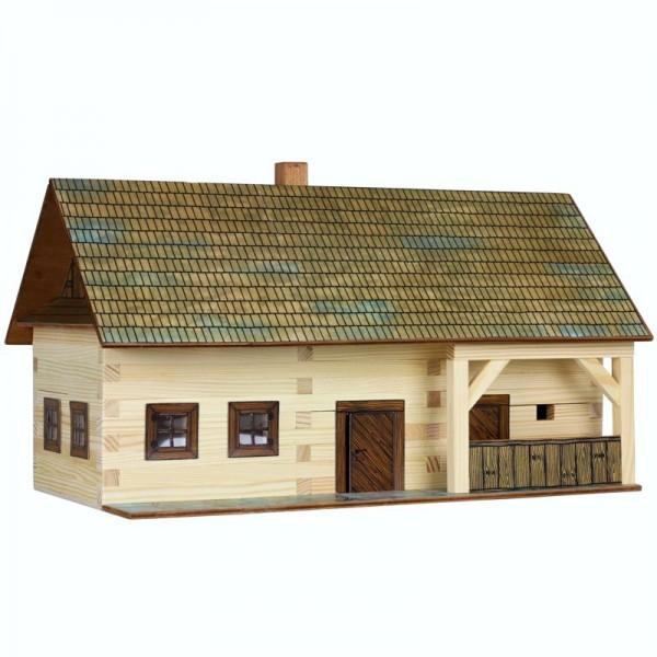 Walachia Holzbausatz Bauernhof