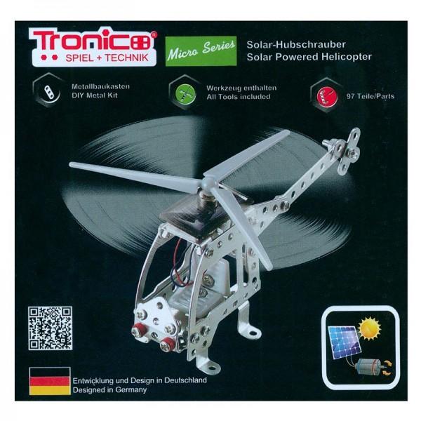 Solar-Metallbaukasten Hubschrauber