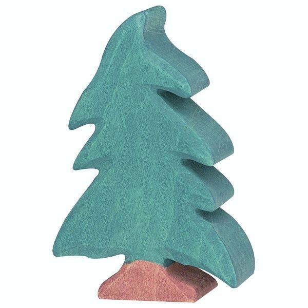 Holztiger Spielfigur Nadelbaum, klein