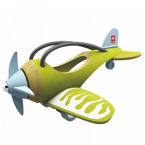 e-Plane Spielzeugflugzeug aus Bambus und Kunststoff