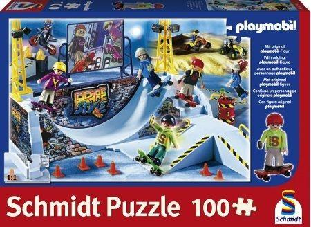 Skater-Park, 100 Teile Puzzle, Playmobil
