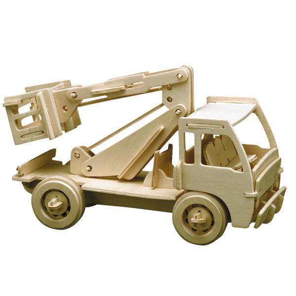 Pebaro Holzbausatz Hubwagen