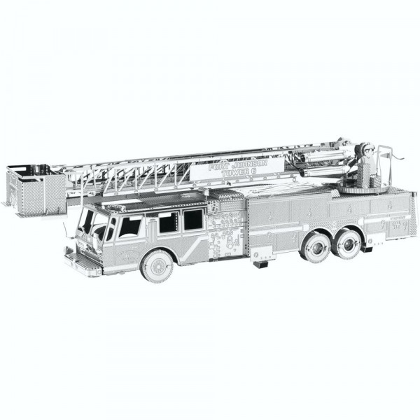 Metal Earth 3D Metallbausatz, Fire Engine