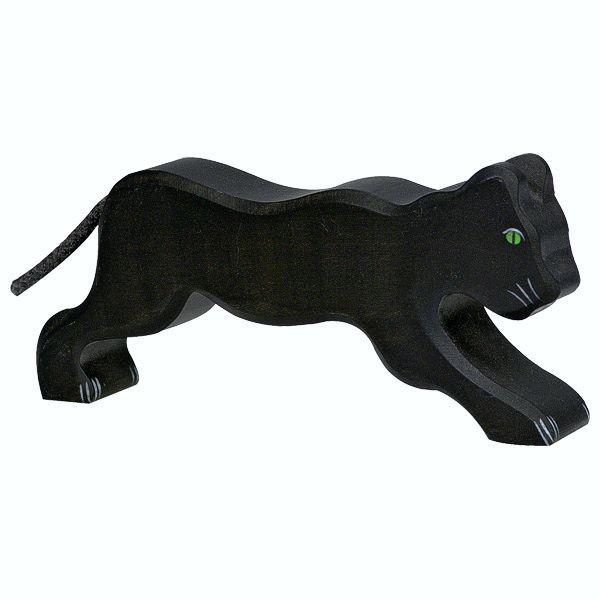 Holztiger Spielfigur Panther