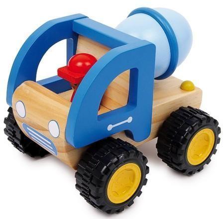 Holzspielzeug LKW Zementmischer