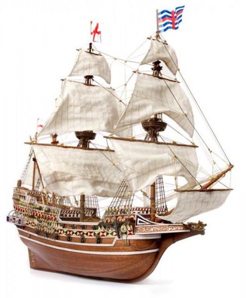 Galeone HMS Revenge, Occre Schiffbausatz aus Holz