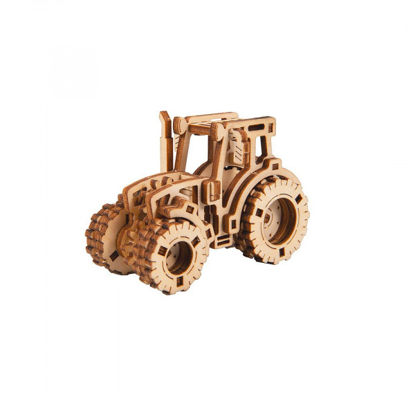 Wooden City Superfast, 3D Holzbausatz Work Horse 1, Modern Tractor