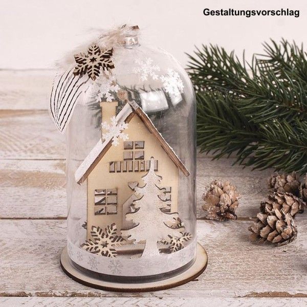 Holzbausatz Winterhäuser