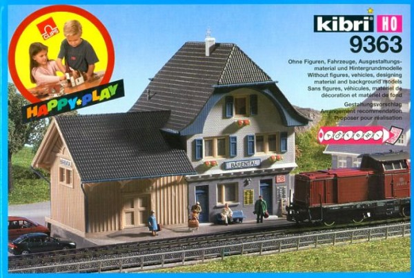 Kibri H0 9363 Bhf. Bärental