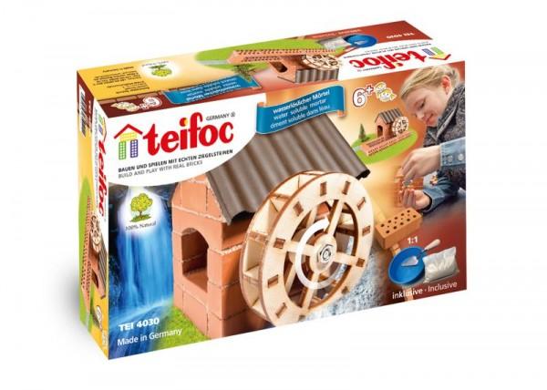 Teifoc Ziegelbausatz, Steinbausatz Wassermühle