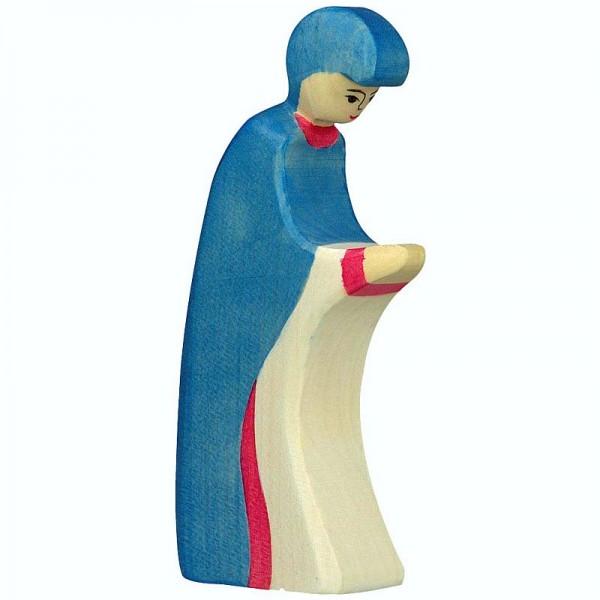 Holztiger Krippenfigur Maria 3