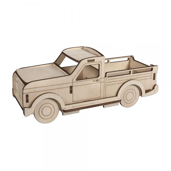 Holzbausatz 3D Lastwagen klein