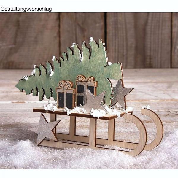Holzbausatz Winterdream. 9teilig