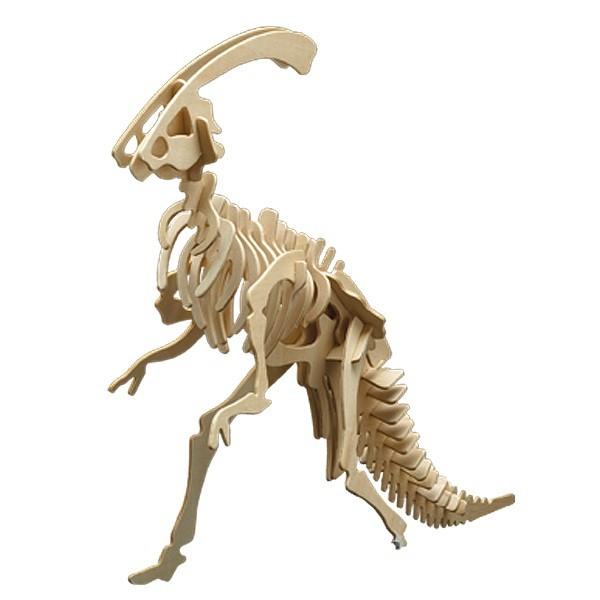 Pebaro Holzbausatz Dinosaurier Parasaurolophus