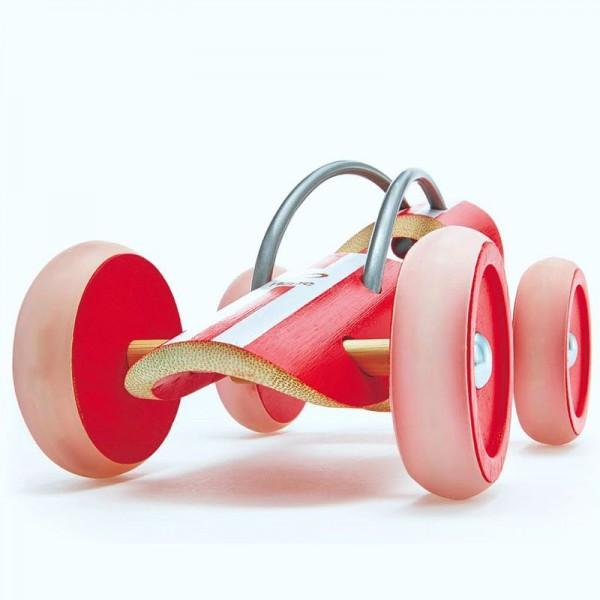 e-Racer Monza, rot aus Bambus und Kunststoff