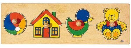 Goki Steckpuzzle Spielzeug, Holz