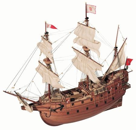 San Martin 1:90 Schiffsbausatz