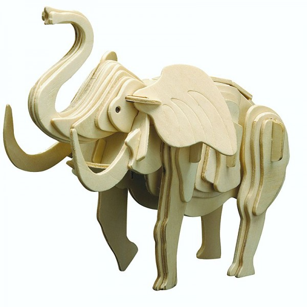 Pebaro Holzbausatz Elefant
