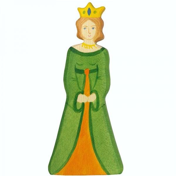 Holztiger Spielfigur Königin