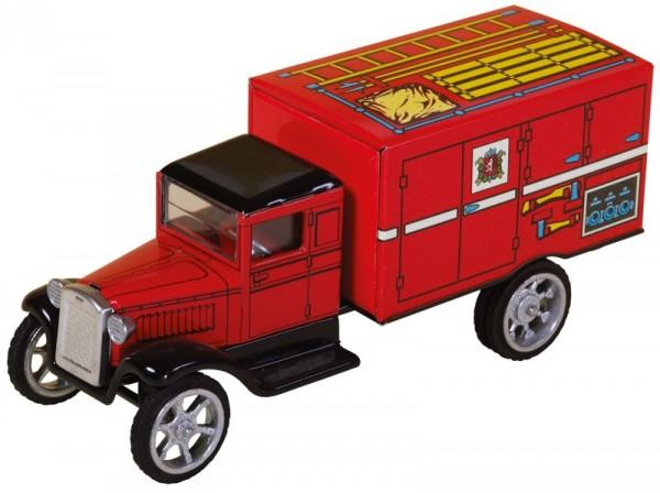 Blechspielzeug Hawkeye Feuerwehr-Kastenwagen