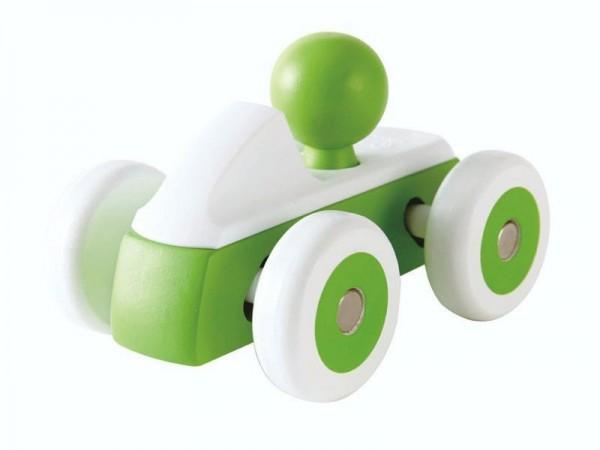 Grüner Flitzer, Spielzeugauto aus Holz und Kunststoff, ab 12 Monate