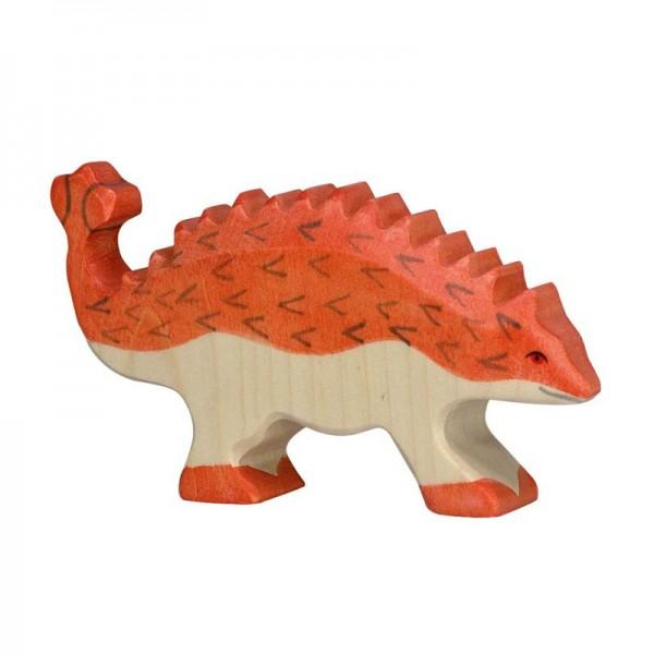 Holztiger Spielfigur Dinosaurier Ankylosaurus