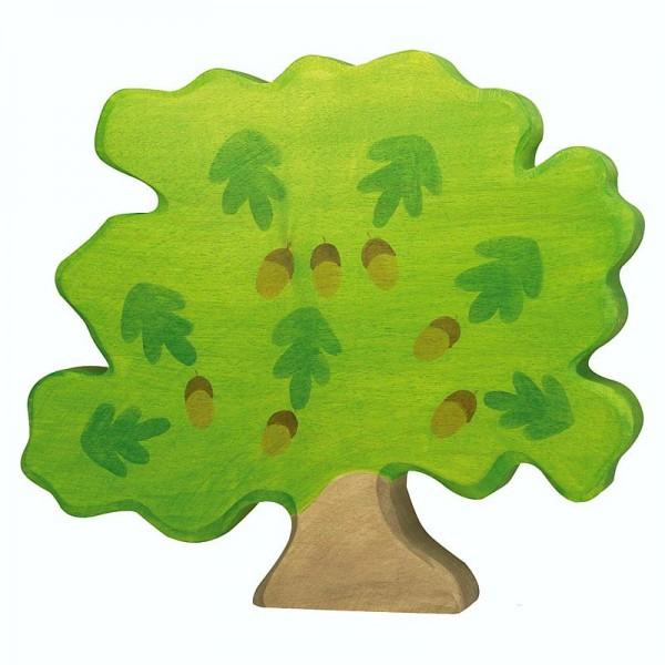 Holztiger Spielfigur Eiche