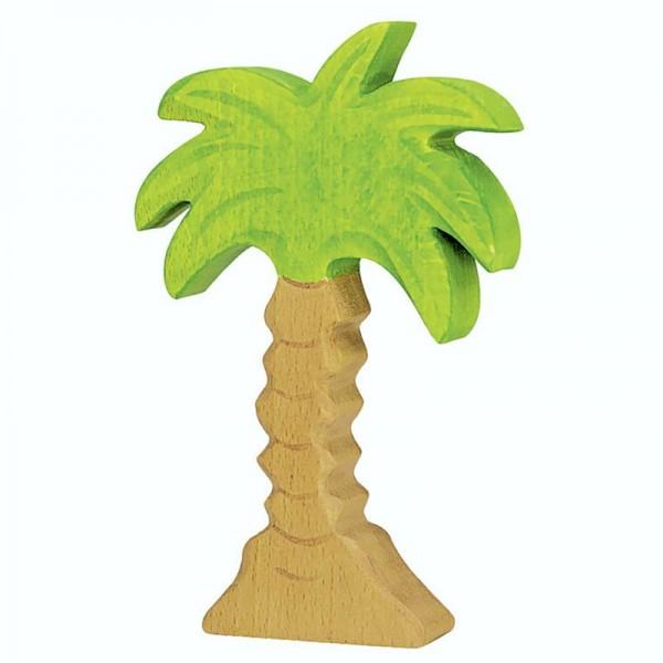 Holztiger Spielfigur Palme, klein