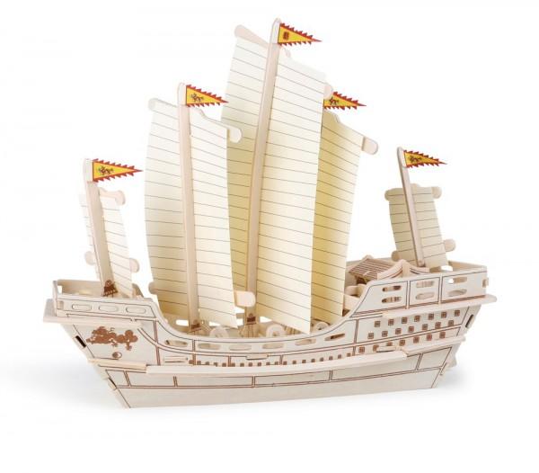 Holzbausatz Segelschiff Zheng He