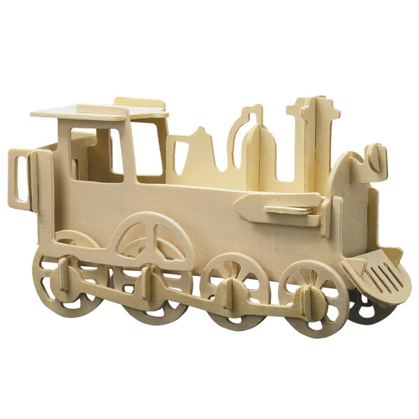 Pebaro Holzbausatz Lokomotive