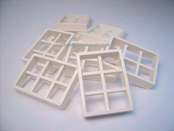 Fenster groß, Modellbauzubehör, 8 Stk. aus Kunststoff