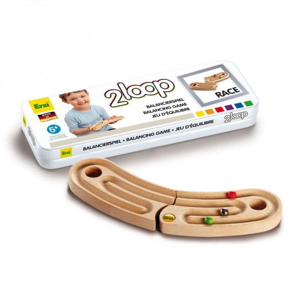 Balancierspiel 2loop Race, aus Holz