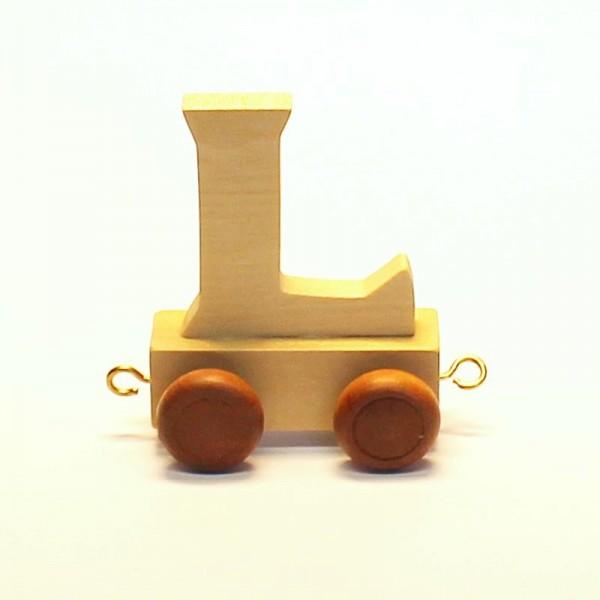 Buchstabenzug Buchstabe L, Holz