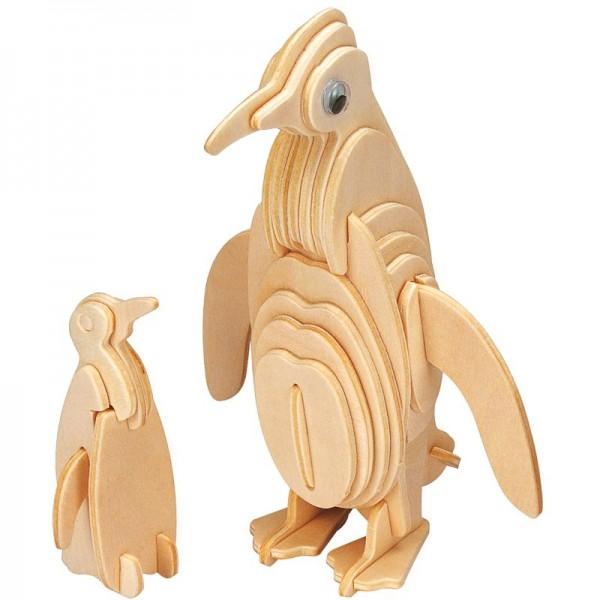 Holzbausatz Pinguin, Gepetto`s Penguin