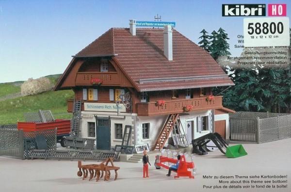 Kibri H0 58800 Schlosserei R. Nägli