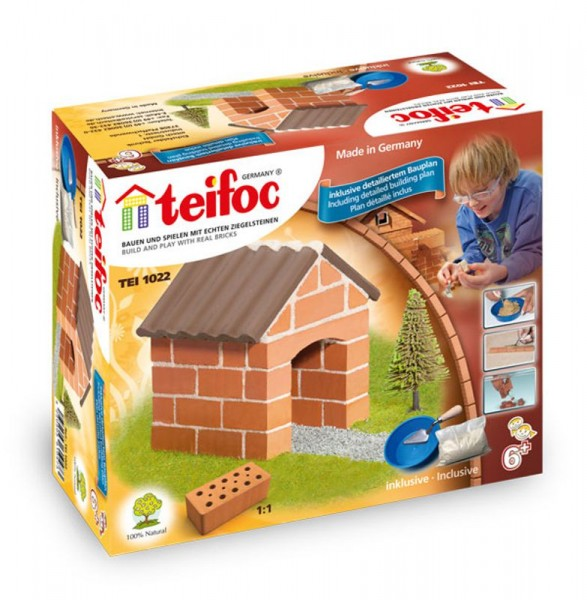 Teifoc Ziegelbausatz kleines Häuschen