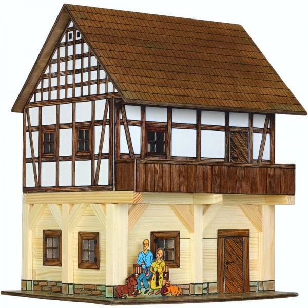 Walachia Holzbausatz Fachwerk Speicher