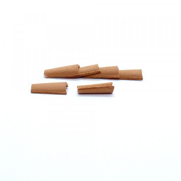 Firstziegel Teja Arabe, Miniaturziegel, 150 Stk. M 1:35, Modellbauzubehör aus Ton