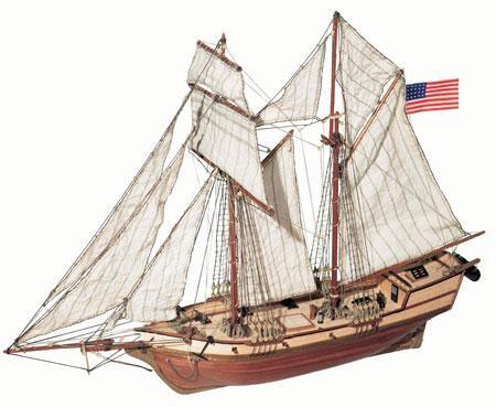 Albatros 1:100 Schiffsbausatz