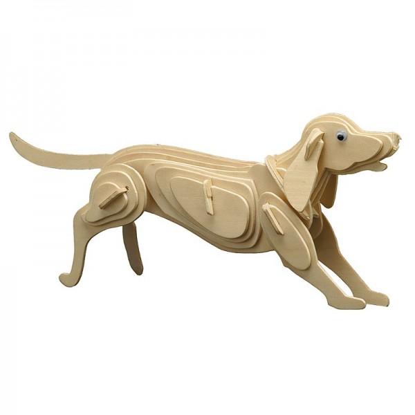 Pebaro Holzbausatz Hund