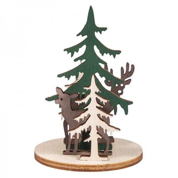 Holz-Steckteile Waldeslust