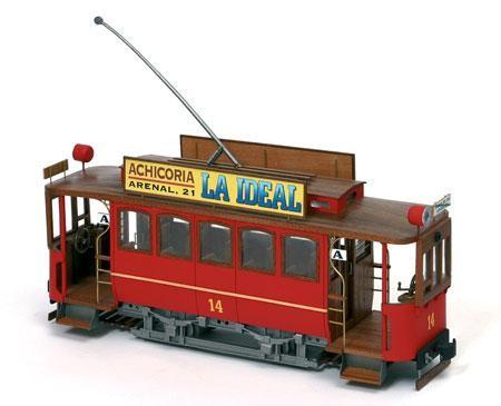 Occre Holzbausatz Straßenbahn Tranvia Cibeles