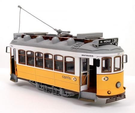 Occre Holzbausatz Lisboa Tram