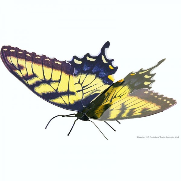 Metal Earth Bausatz Schmetterling Butterfly Tiger Swallowtail