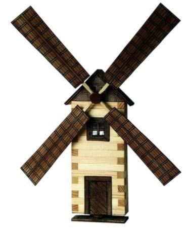 Walachia Wanddeko Windmühle