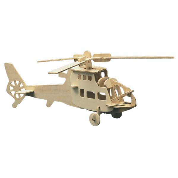 Pebaro Holzbausatz Hubschrauber