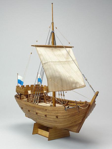 Schiffbausatz Kogge von Kampen 1336, Holzbausatz lasercut